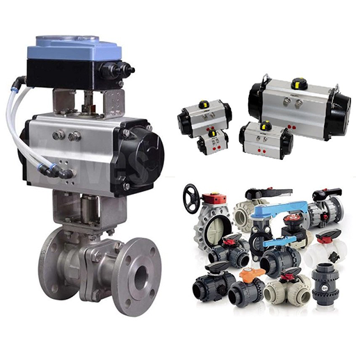 Industrial Valve, Actuator And Flow Control System